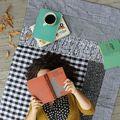 Easy Patchwork Quilt DIY - December 24, 2014
