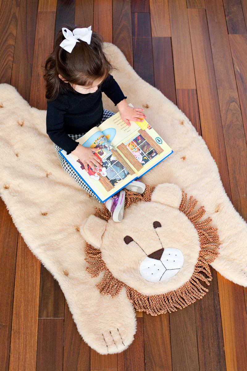Make a quilted animal play mat- step by step instructions and photos