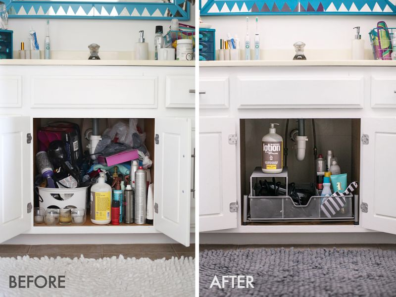 Organize Your Bathroom Vanity Like a Pro! (click through for tips) - Organize Your Bathroom Vanity Like A Pro! €� A Beautiful Mess