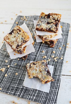 Coconut and Toffee Bars