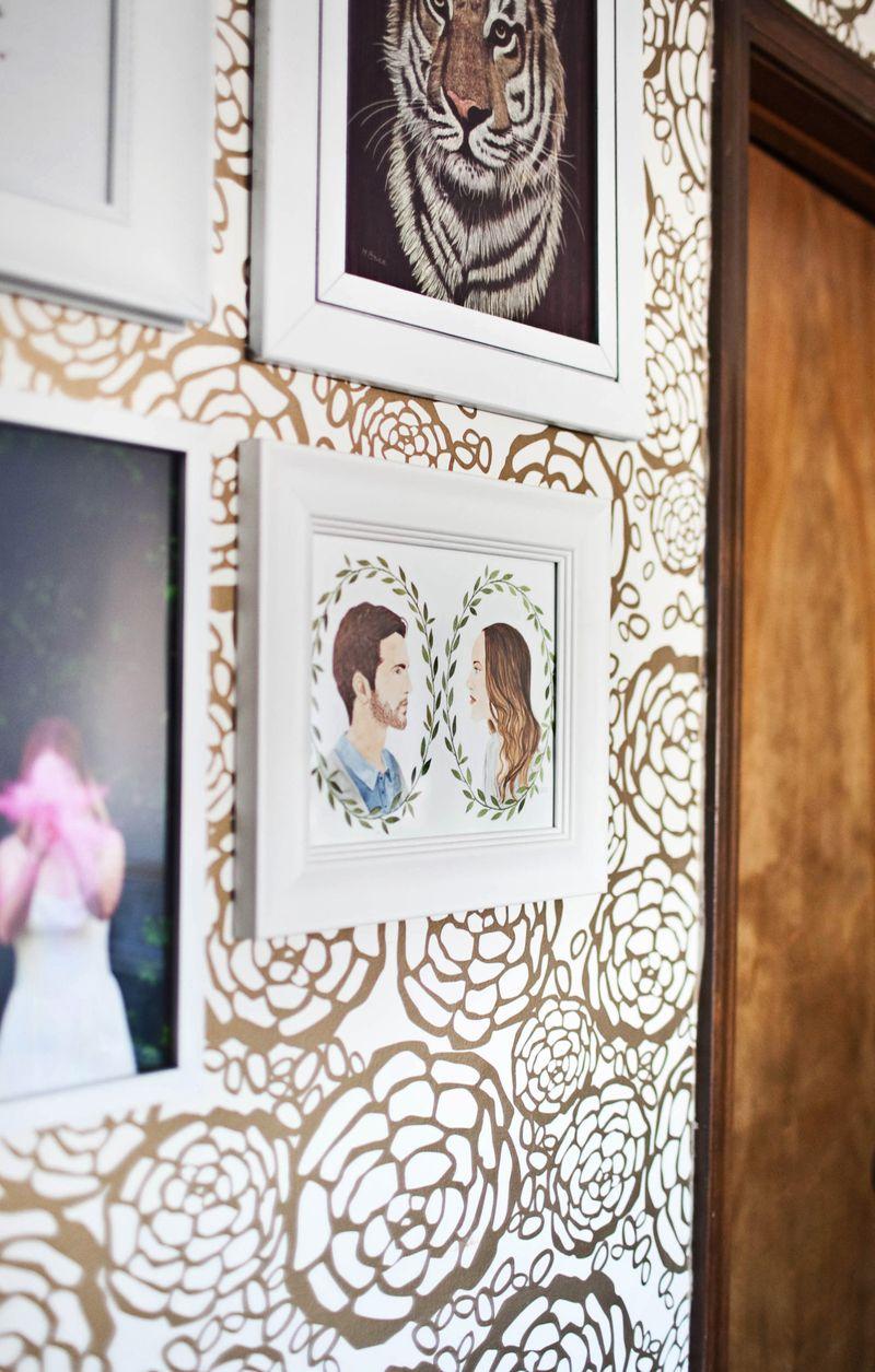 Mini gallery wall