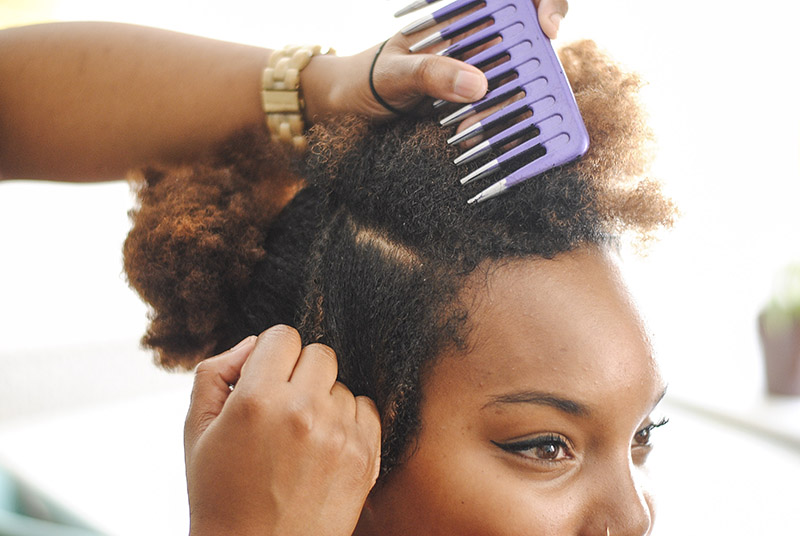Easy bantu knots for all hair types a beautiful mess easy bantu knots for all hair types click through for tutorial thecheapjerseys Image collections
