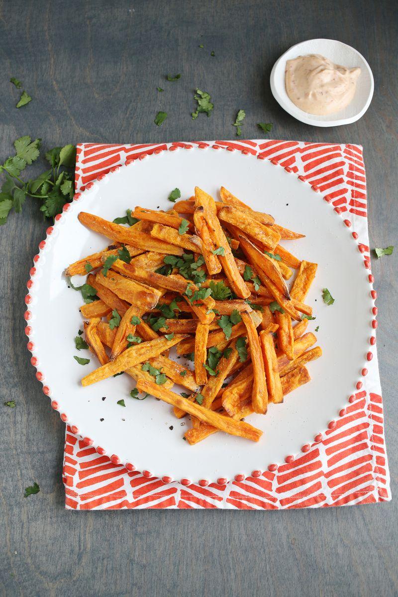 Best baked sweet potato fries