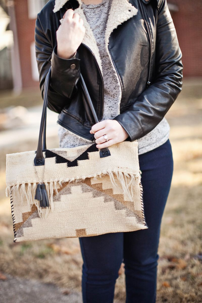From place mat to handbag-Project Restyle