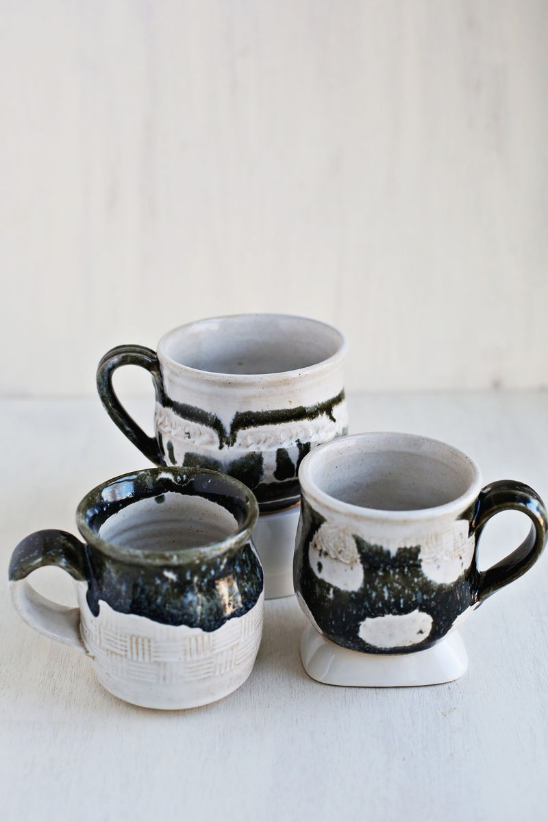 something new to me pottery lessons a beautiful mess. Black Bedroom Furniture Sets. Home Design Ideas