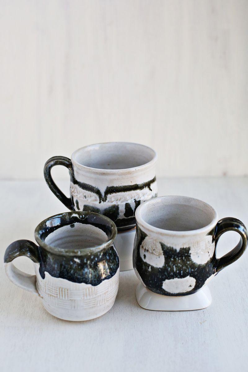 Homemade mugs