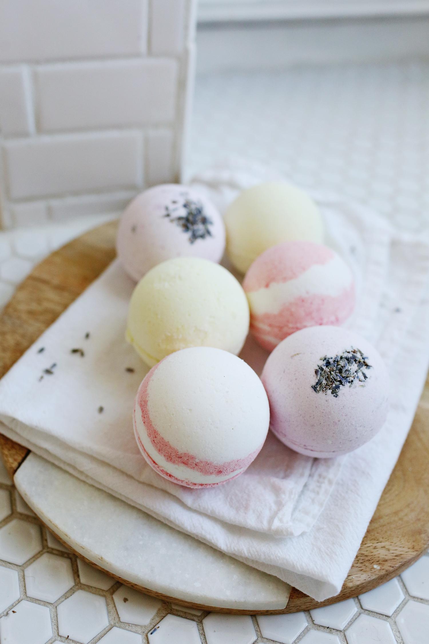 Easy homemade bath bombs