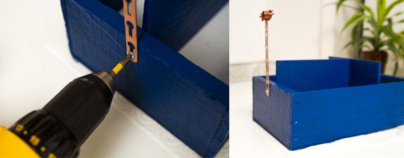 Utensil holder DIY (click through for tutorial)