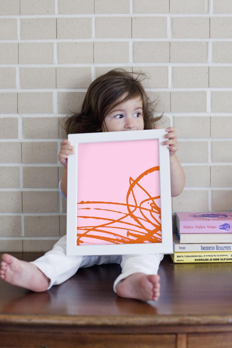 Modern kiddo art