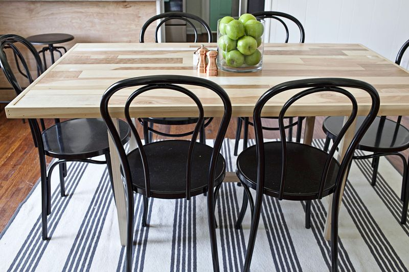 Diy Six Seat Dining Room Table – A Beautiful Mess