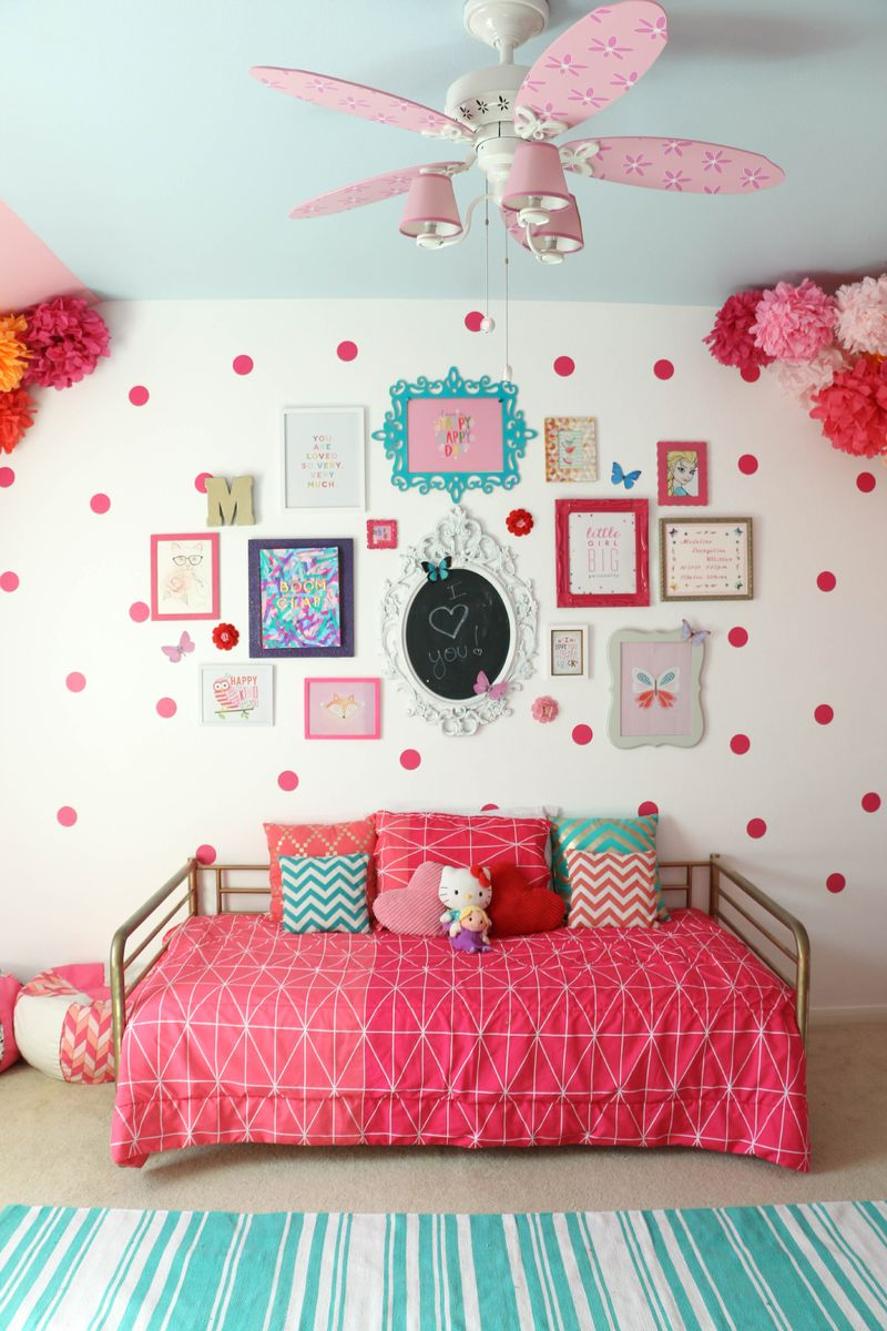20+ More Girls Bedroom Decor Ideas | The Crafting Nook on Beautiful Room Design For Girl  id=65758