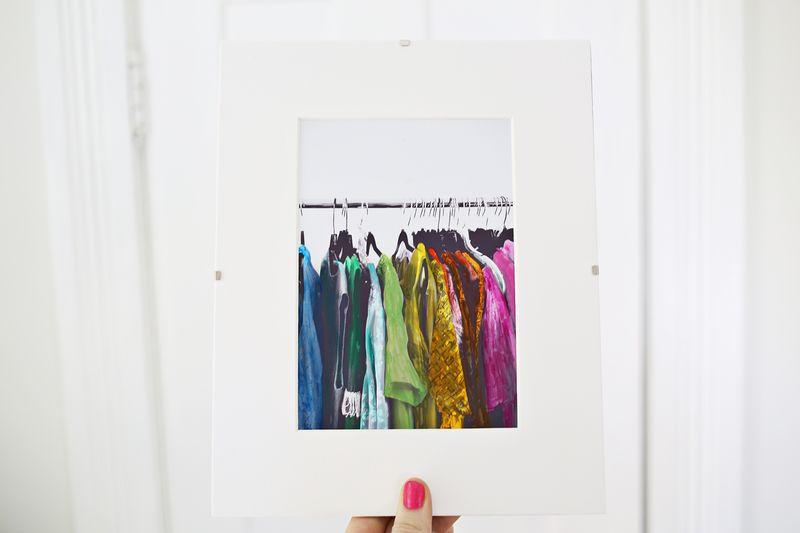 How to hand color photographs via www.ABeautifulMess.com