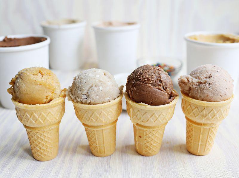 Easy sugar free ice cream