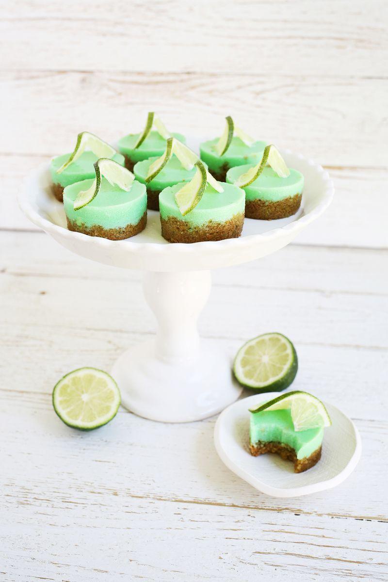 Key lime pie jello shots