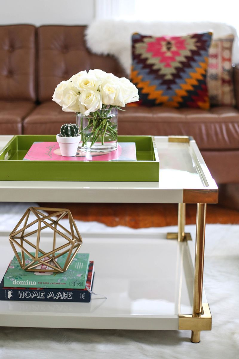 Styling A Coffee Table 3 Ways Via Beautiful Mess