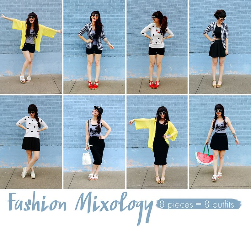 Fashion Mixology via abeautifulmess.com