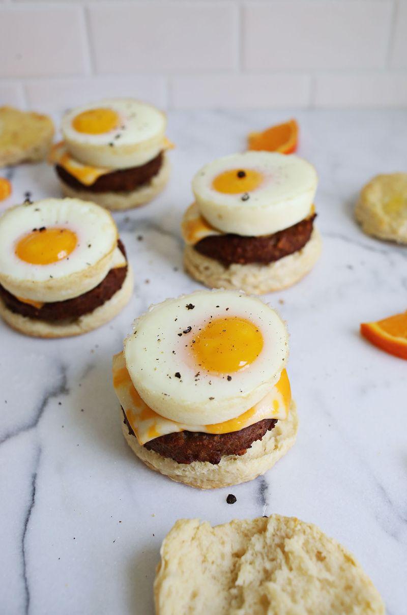 Best Ever Buttermilk Biscuit Sandwiches (via abeautifulmess.com)