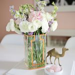 Copper Tape Vase DIY
