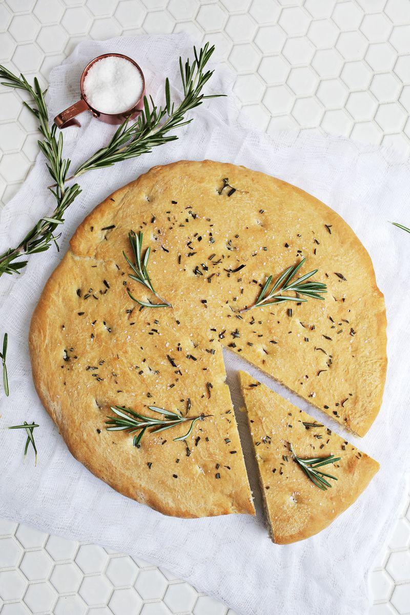 Rosemary Focaccia Bread (click through for recipe)