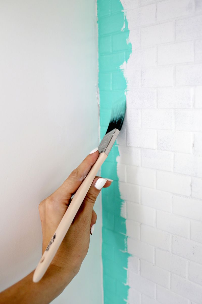 how to paint over tile need to do this click through for tutorial
