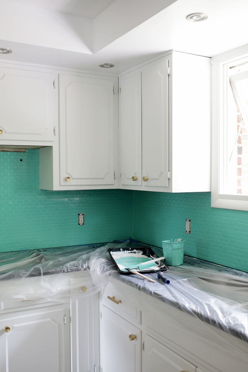 How to paint over tile-need to do this! (click through for tutorial