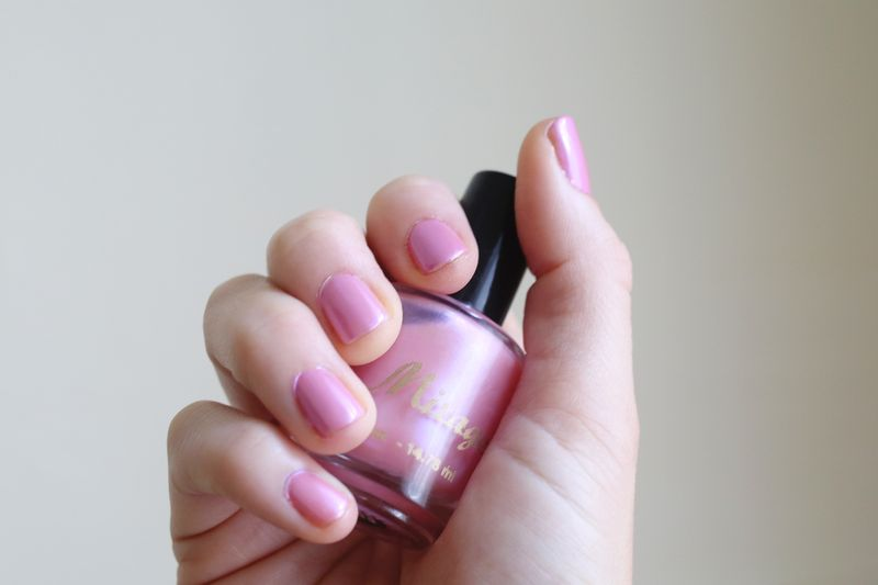 Mirage Nail Polish in Cotton Candy