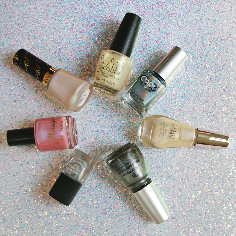 Holographic and Iridescent Nail Polish (best of guide!)