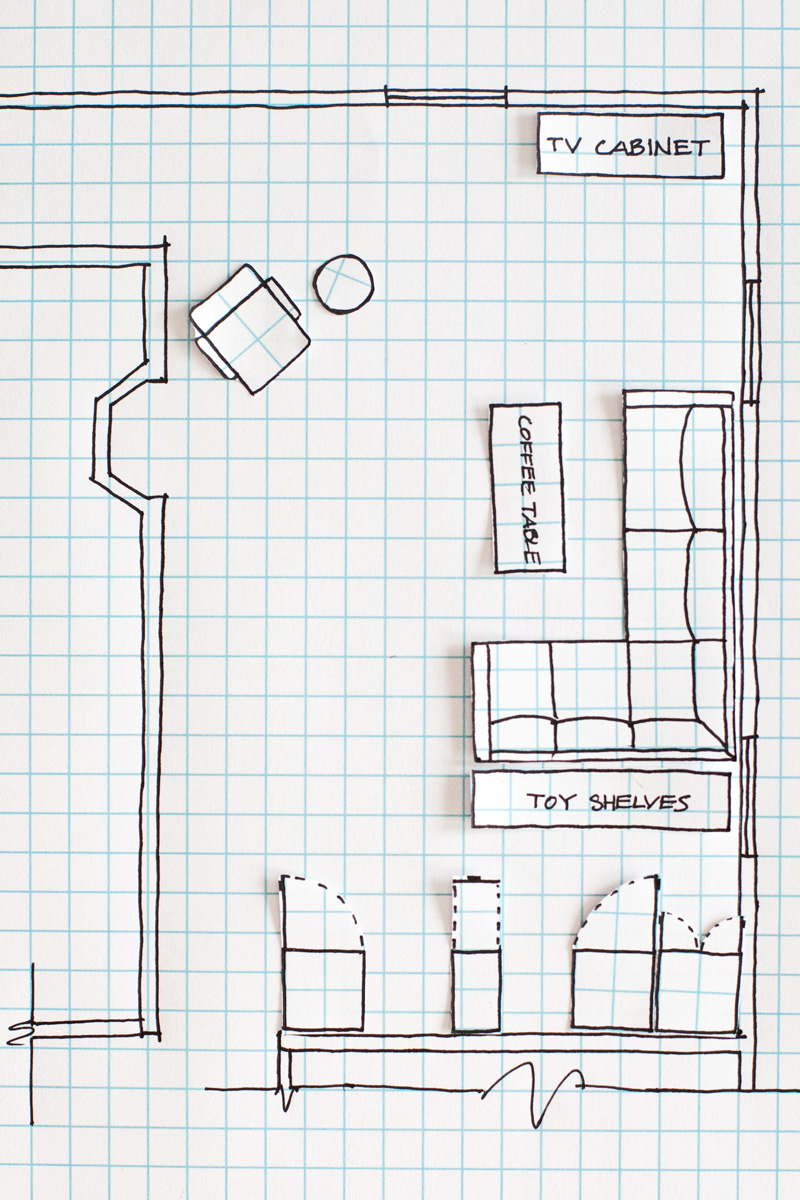 How to draw a floor plan a beautiful mess for How to draw your own house plans