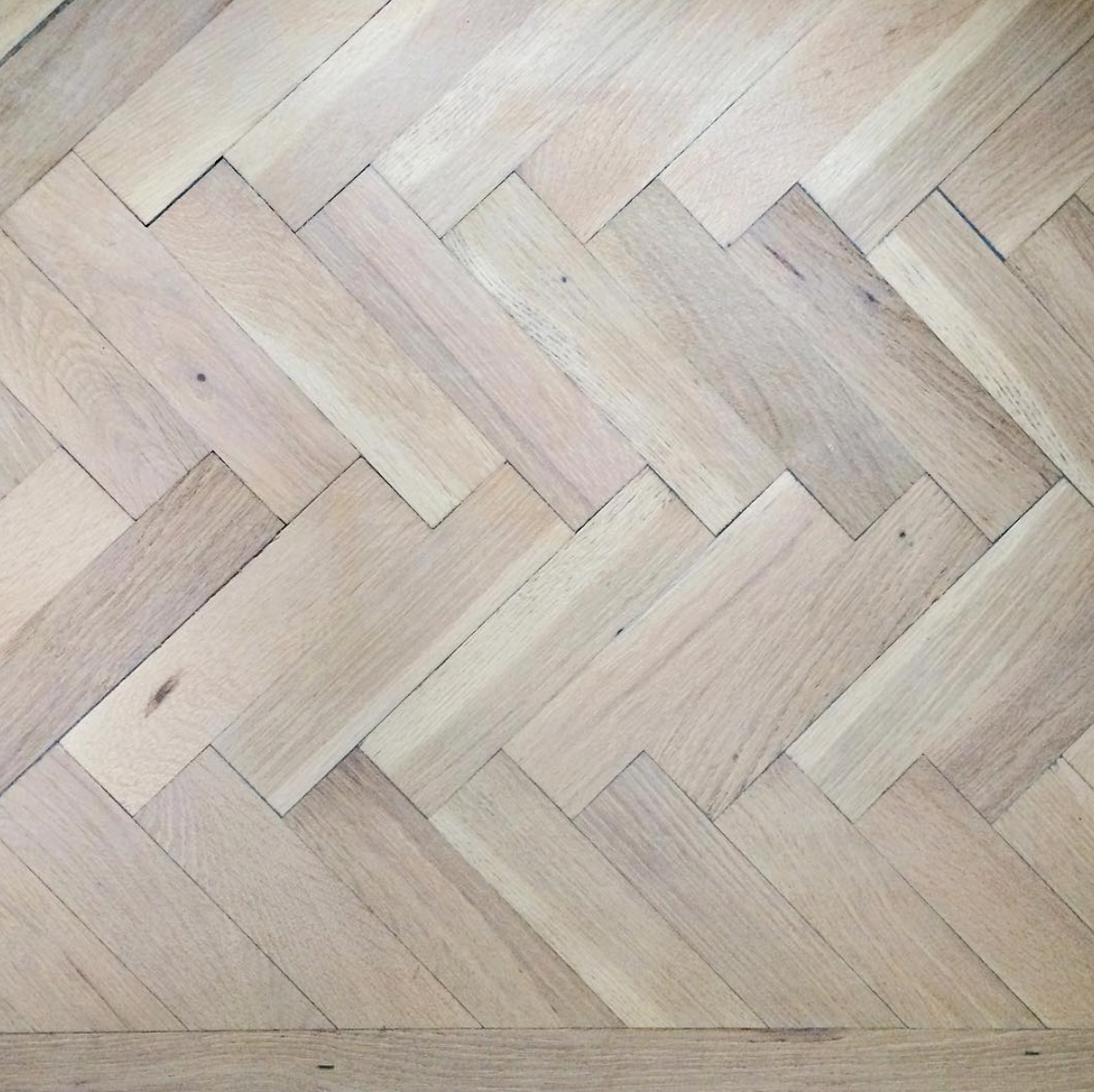 White Wash Wood Stain: My Color Washed Living Room Floor