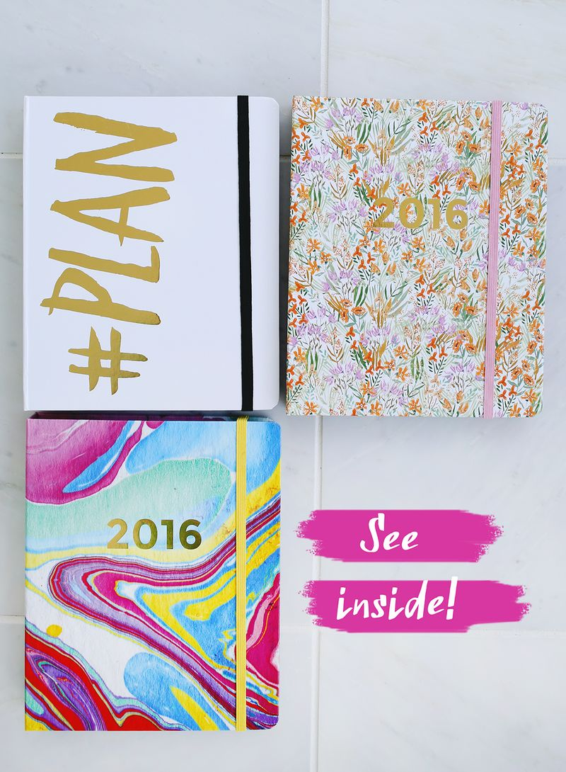 See inside our 2016 planners!