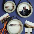 Simple & Stylish Circle Frames  - October 29, 2015