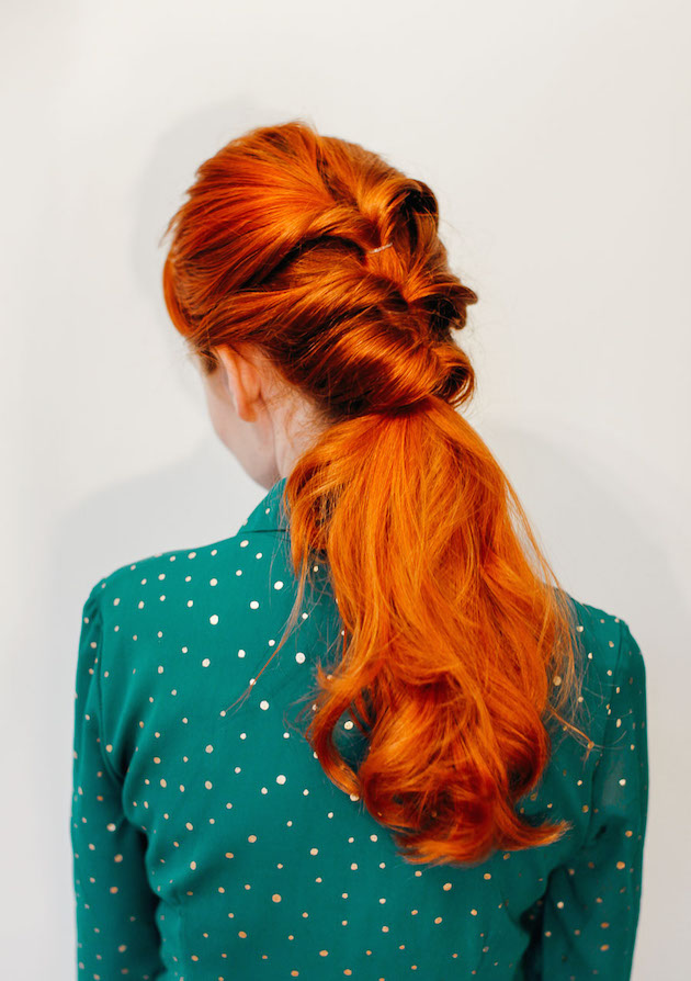 easy hair styles for the twist ponytail a beautiful mess 5512