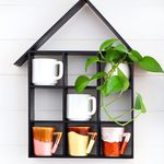 House Shaped Shelf DIY