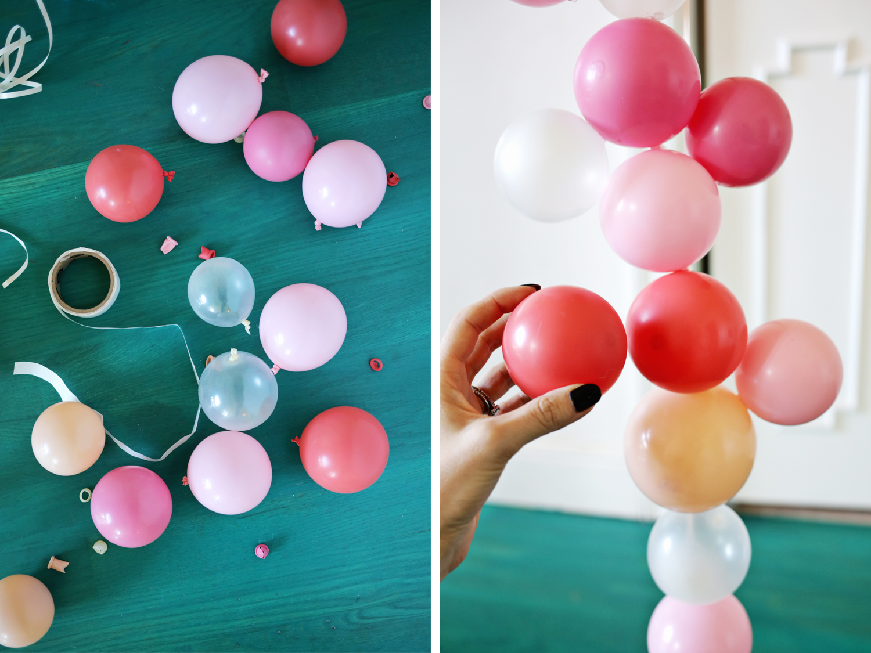 5 cute balloon ideas for party decor! (click through for tutorial)