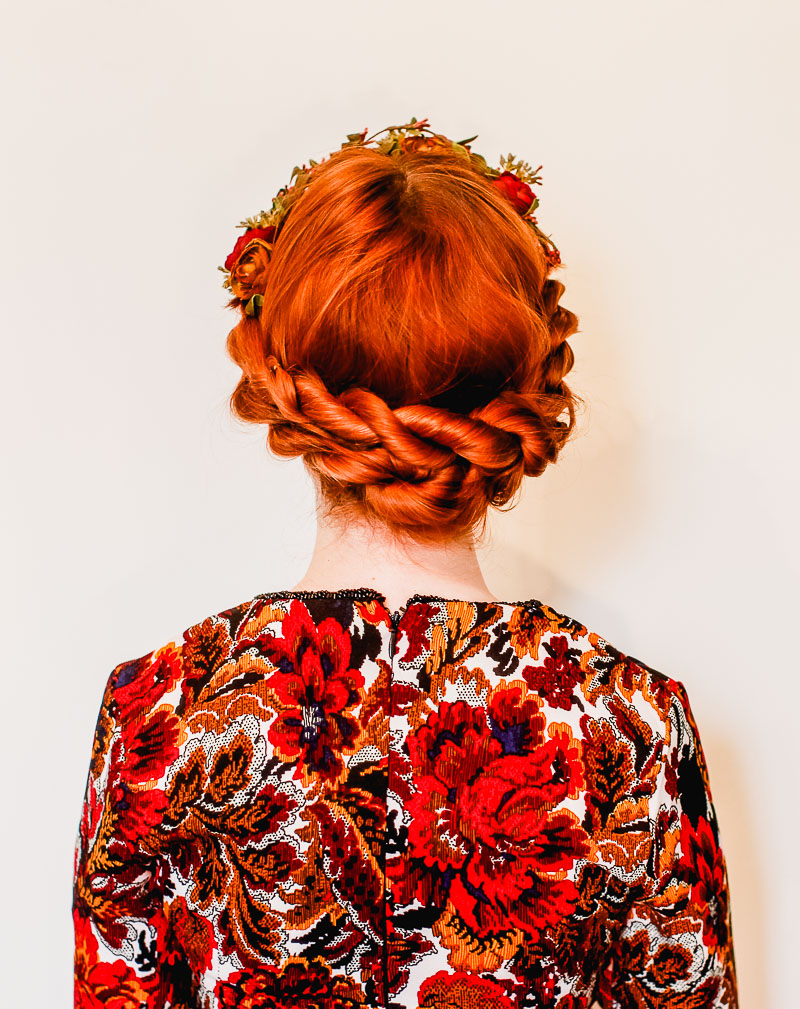 Easy Twisted Updo A Beautiful Mess