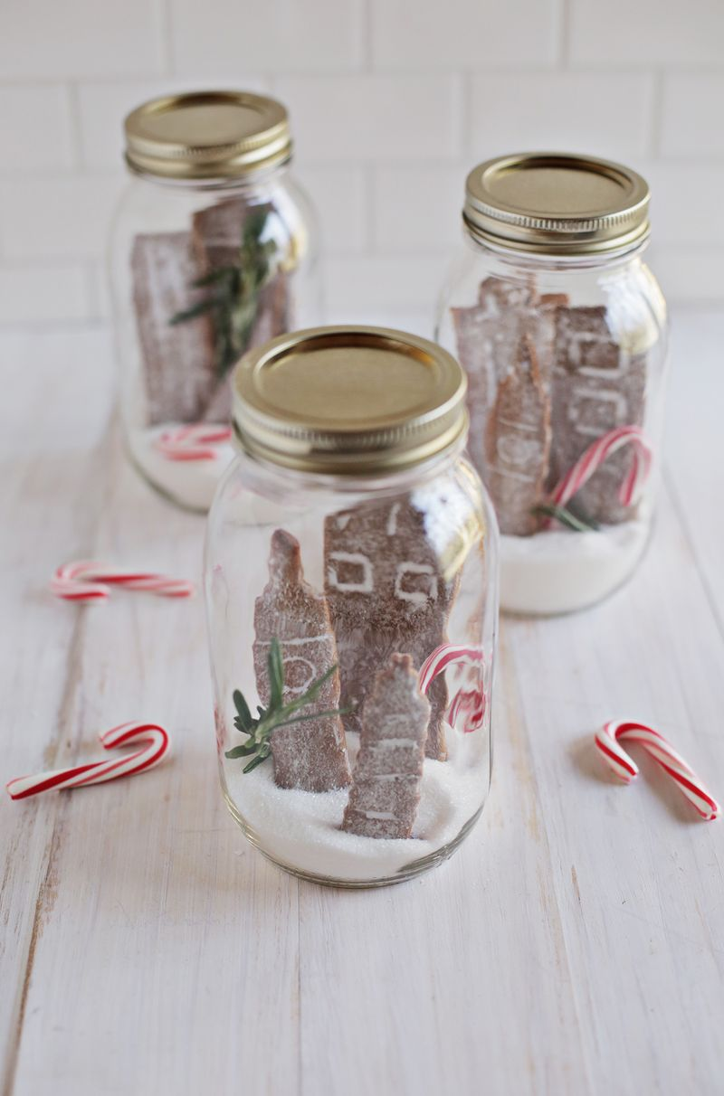Spicy Gingerbread Cookies Turned Cityscapes - A Beautiful Mess