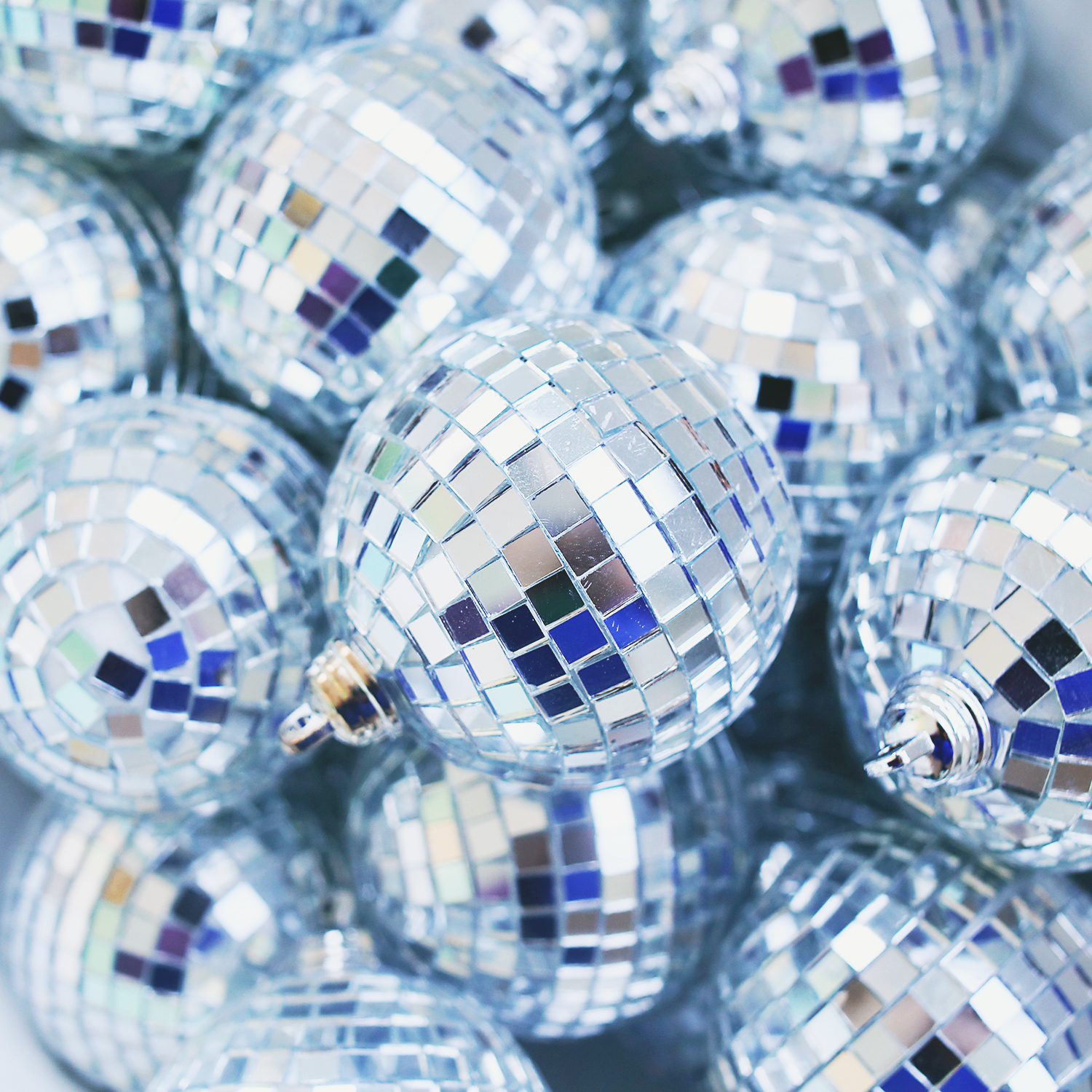 Disco Ball Ornaments