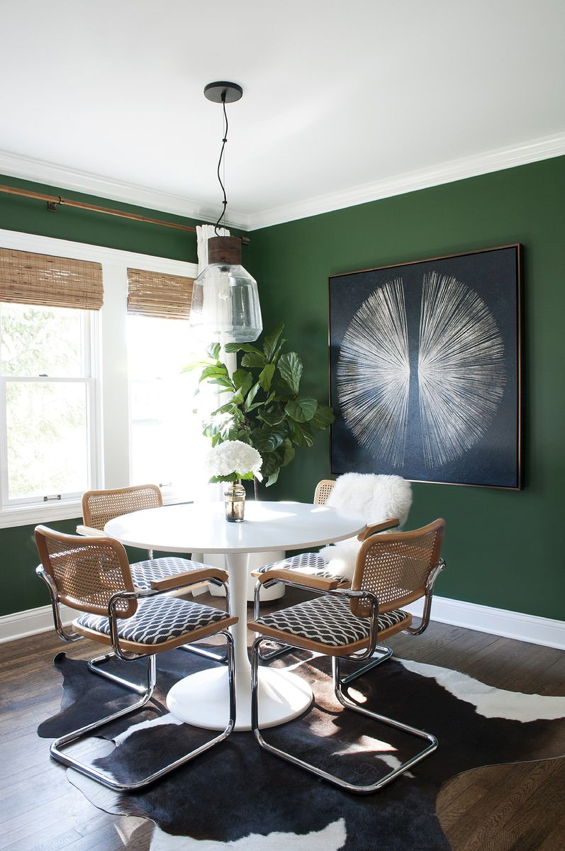 Hunter Green Dining Chairs