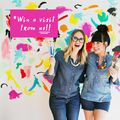 #ABMColorContest: Win $1,000, a Canon Printer, and a Wall Makeover with Elsie + Emma!!  - February 04, 2016