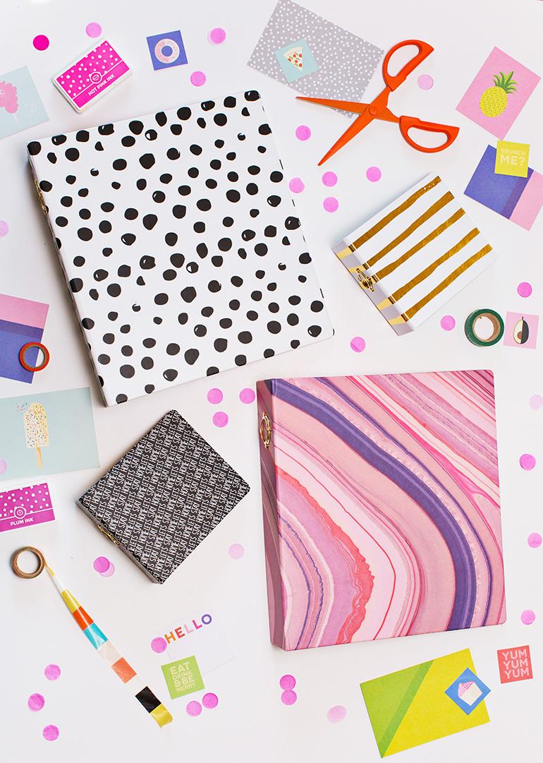 Messy Books from abeautifulmess.com