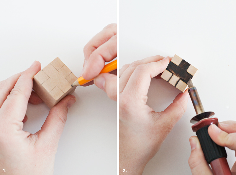 DIY Wood Burned Bottle Stoppers