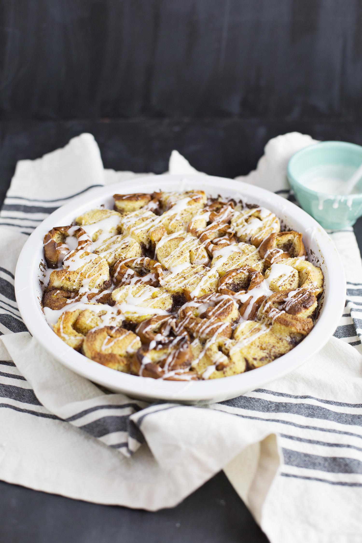Cinnamon Roll Casserole (via abeautifulmess.com)