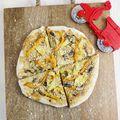 Homemade Veggie Frozen Pizza (Vegan Friendly) - March 15, 2016