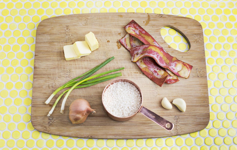 Risotto lorraine recipe