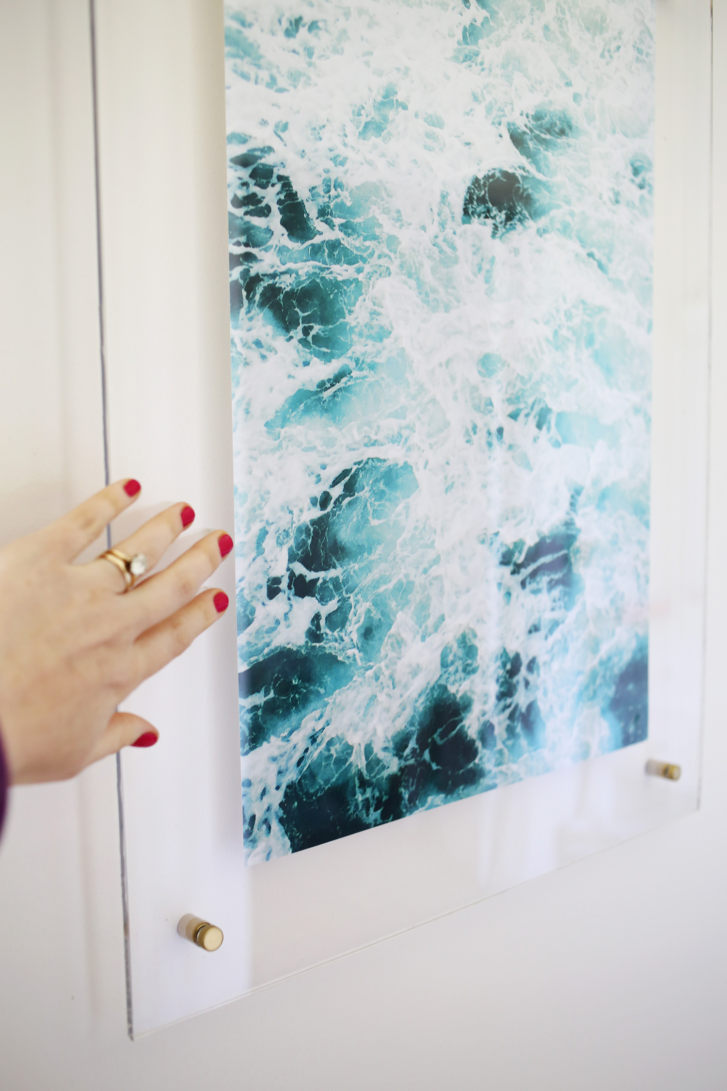Acrylic Wall Frames floating acrylic frame diy – a beautiful mess