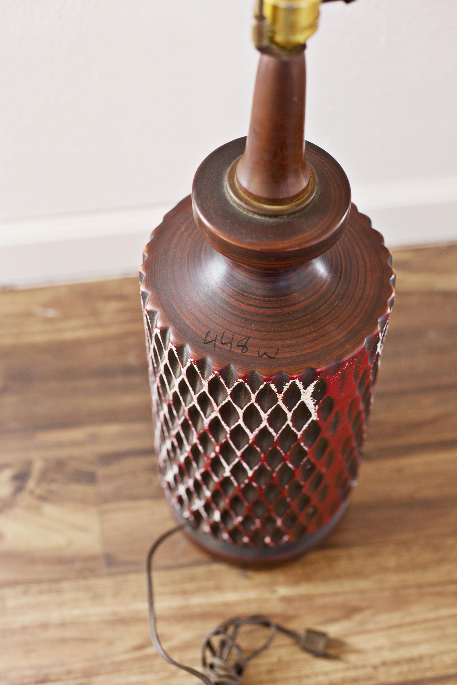 Used lamp