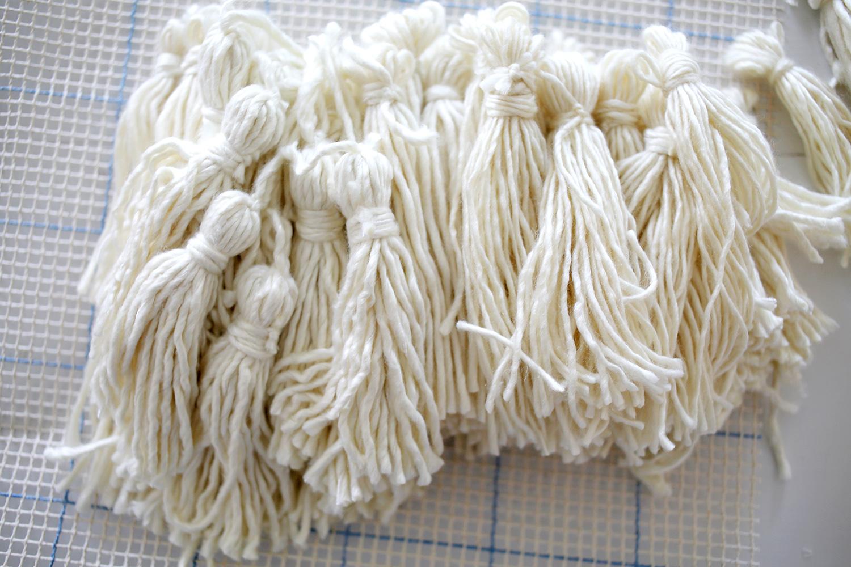 Step 1 make tassels