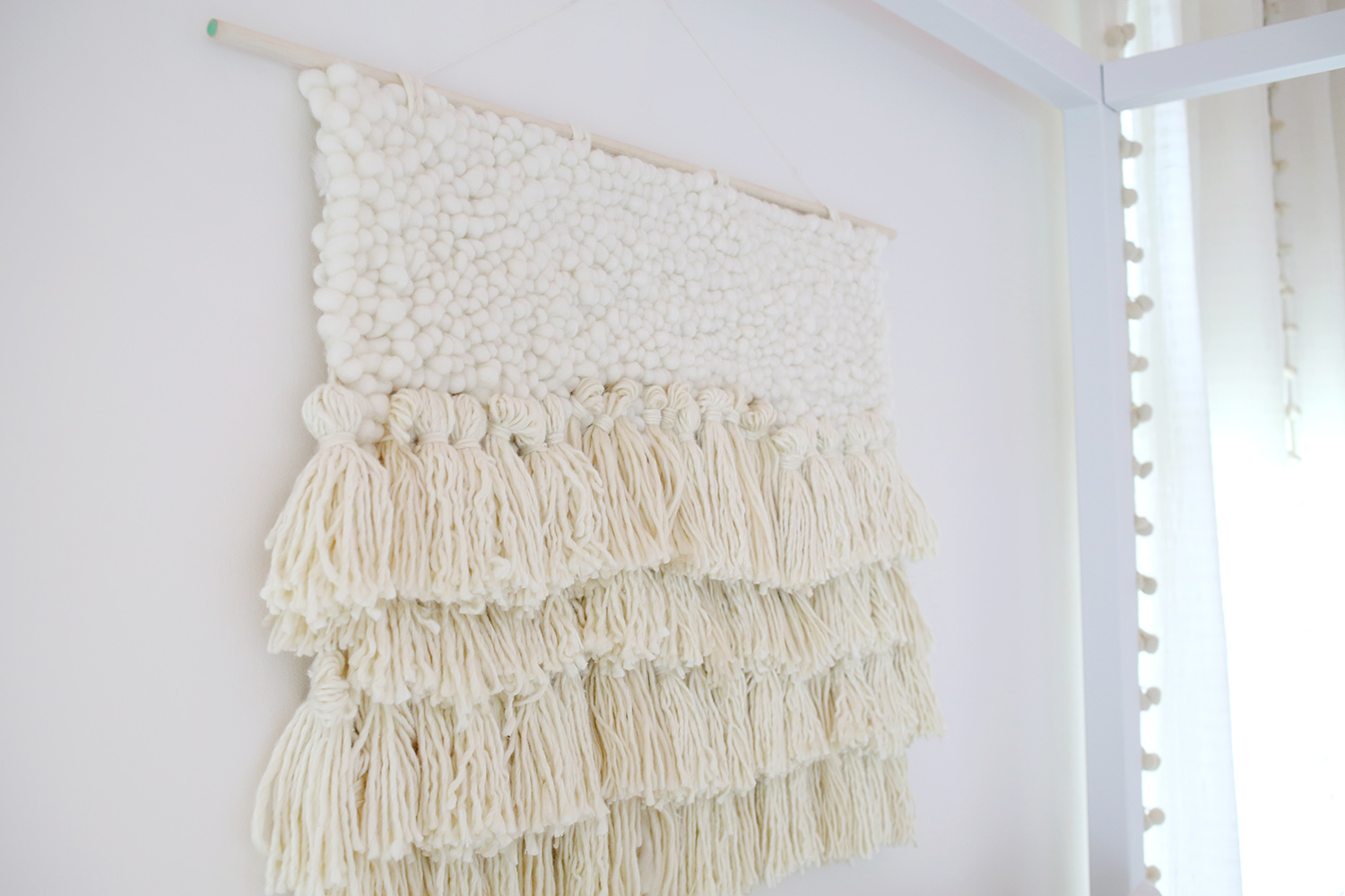 DIY Fiber Art via A Beautiful Mess