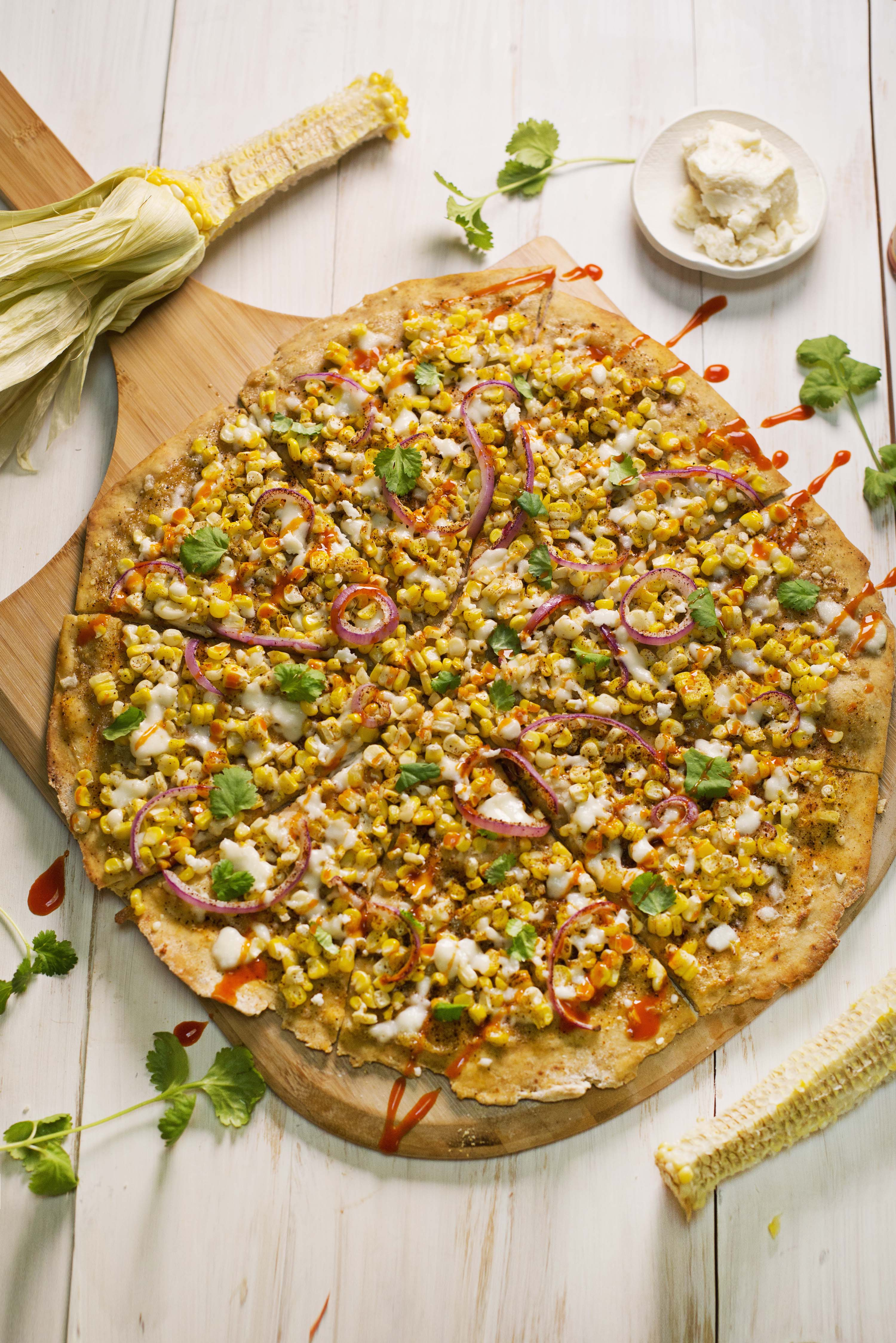 Street corn pizza (via abeautifulmess.com)