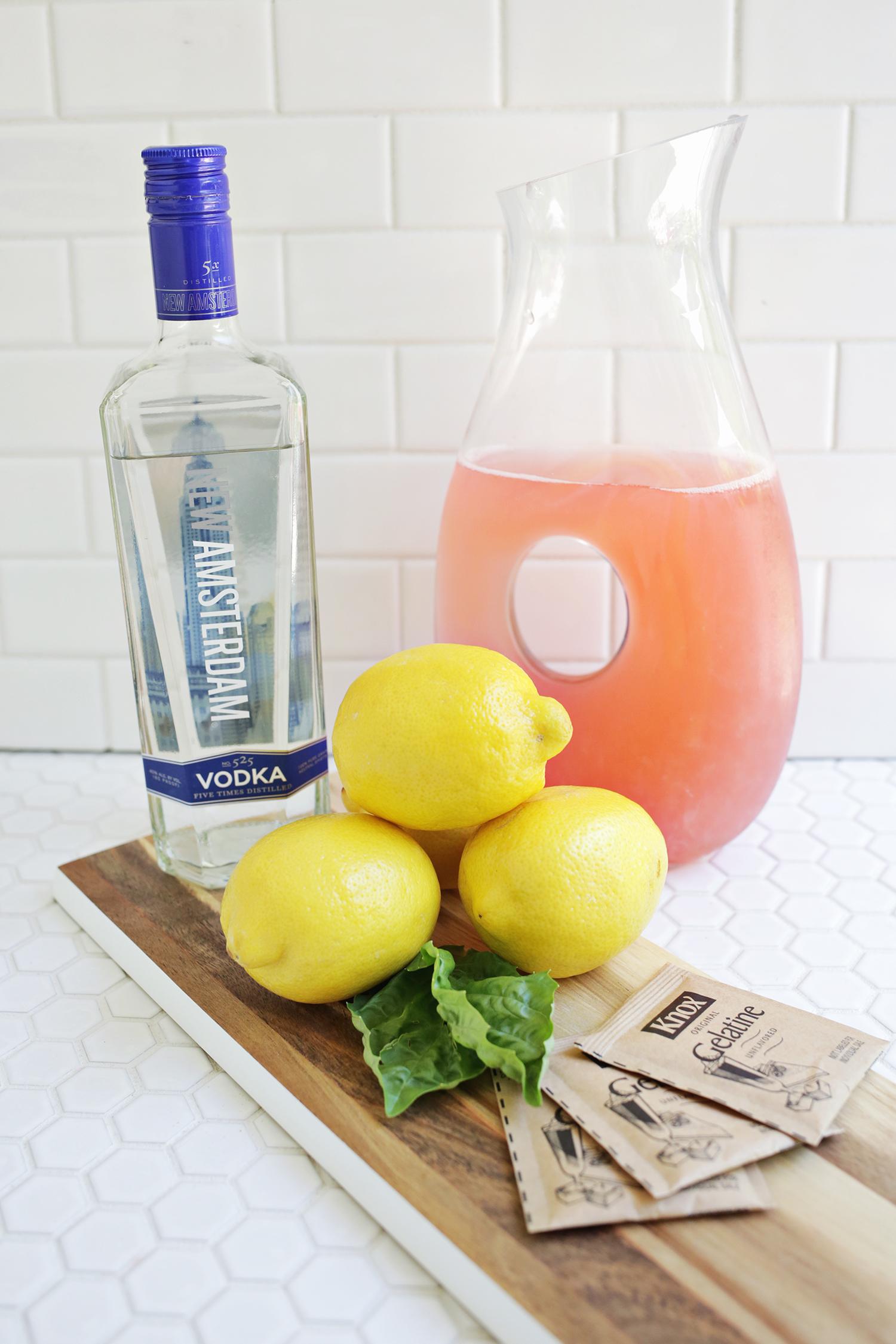 Pink Lemonade Jello Shots – A Beautiful Mess